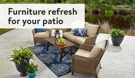 Furniture refresh for your patio