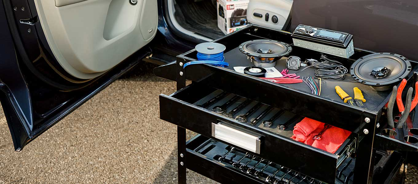 It's all about the bass. Create the perfect audio system for your ride.