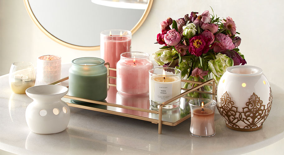 Scents Of Spring Beautiful Candles Wax Warmers And Diffusers In The Fragrances Colors