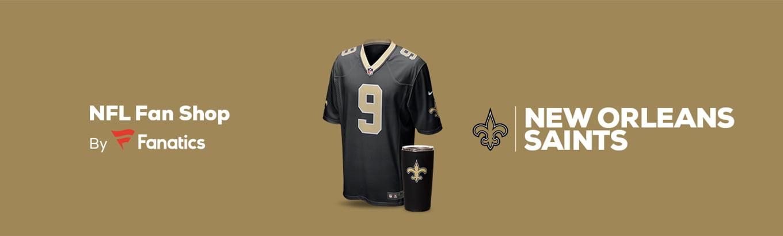 newest 49466 b74f7 New Orleans Saints Team Shop - Walmart.com