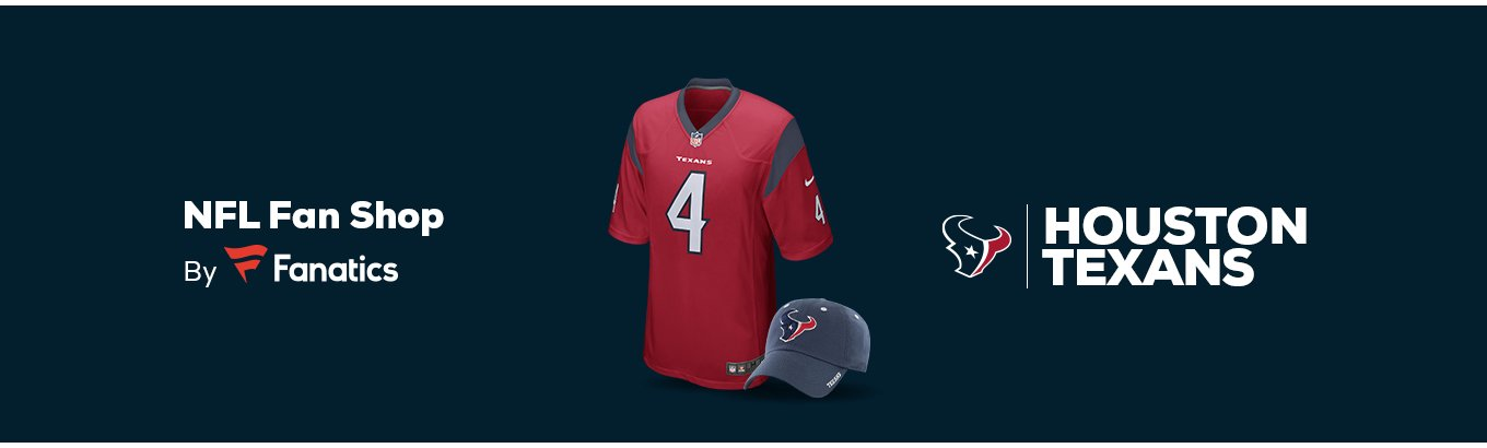 newest acf68 d3d42 Houston Texans Team Shop - Walmart.com