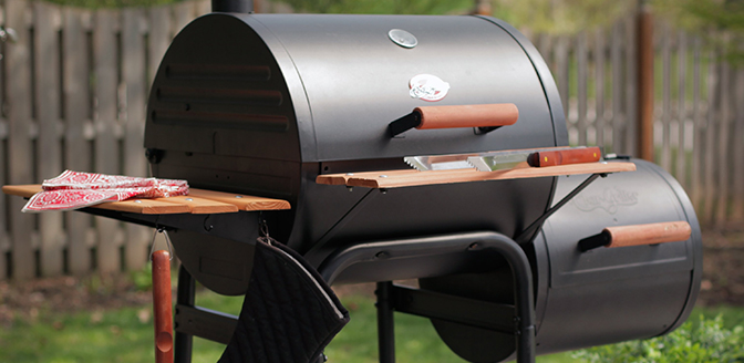 Get all cooking options in one grill.