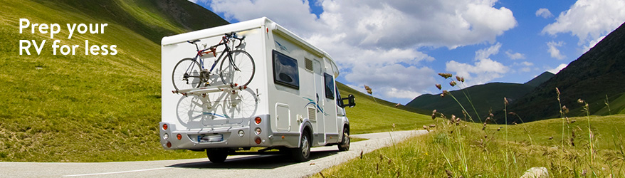 RV essentials for less