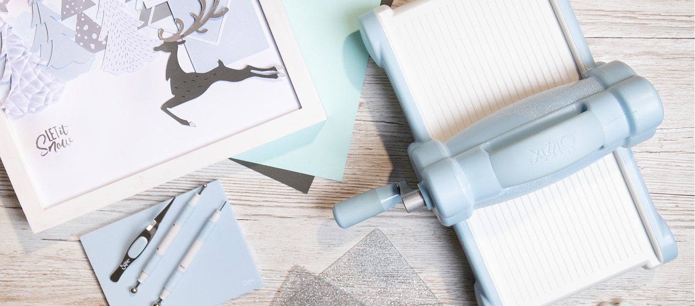 Sizzix Sky blue collection
