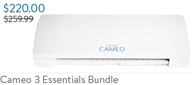 Silhouette Cameo 3 Essentials Bundle