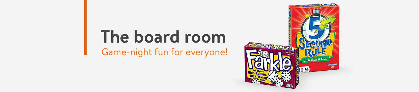 The board room: game-night fun for everyone!
