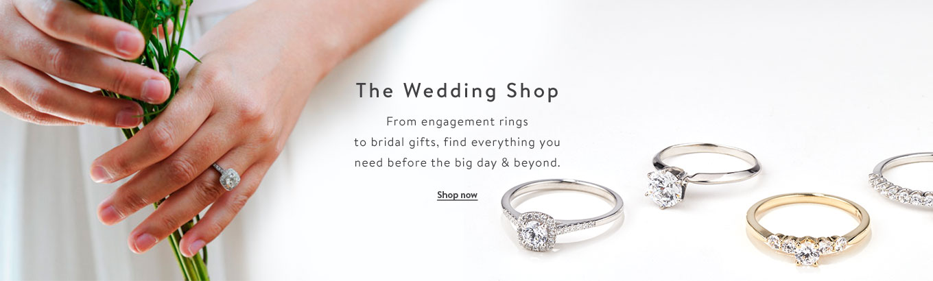 008599d1347 The Wedding Shop. From engagement rings to bridal gifts