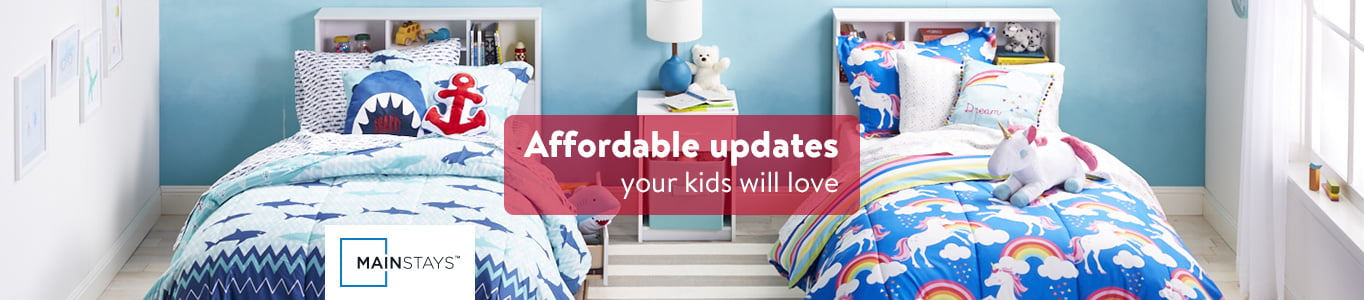 kids' rooms - walmart
