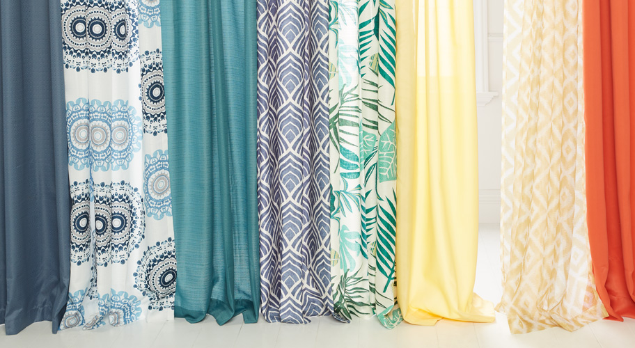 Curtain call. Give your windows a refresh with curtains and blinds in a palette perfect & Curtains u0026 Window Treatments - Walmart.com