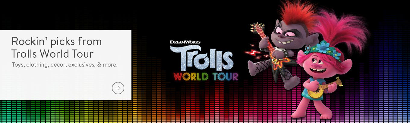Shop Dreamworks Trolls