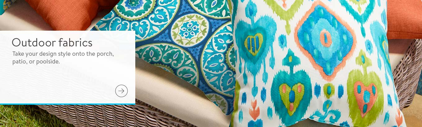 Outdoor Cushions Outdoor Fabric Golden Yellow Outdoor Fabric