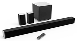 Vizio surround sound bar system