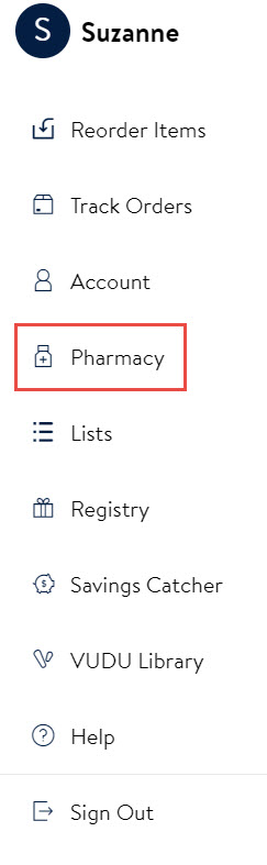 Help Pharmacy Managing Your Account