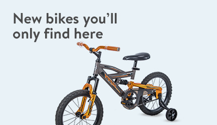 New bikes you'll only find here.