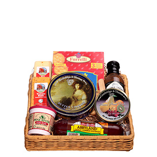 Christmas gift food baskets free shipping