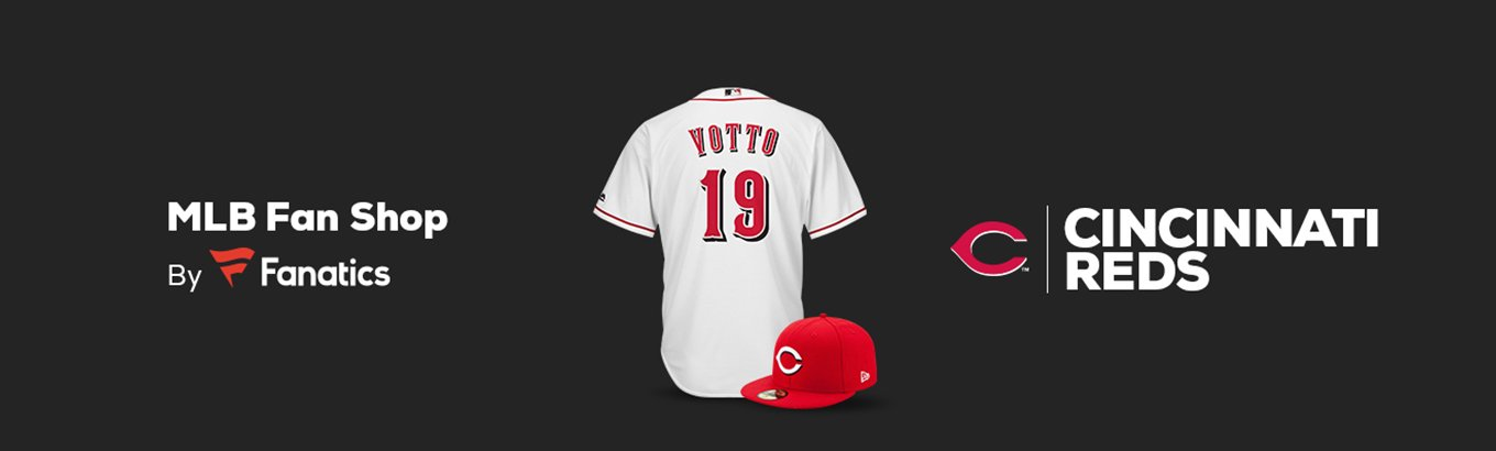 the latest 1e6be 9952d Cincinnati Reds Team Shop - Walmart.com