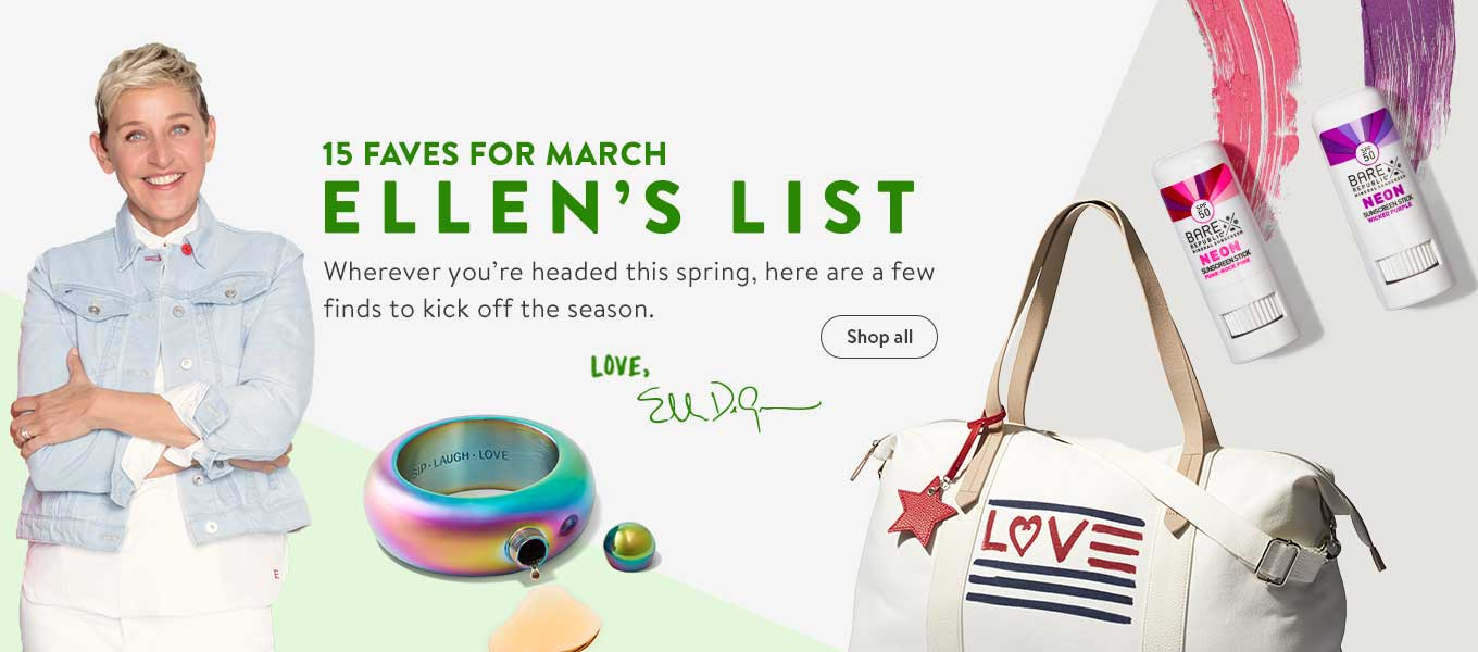 15 Faves for March. Ellen s List. Wherever you re headed this spring 90fb4752fd9
