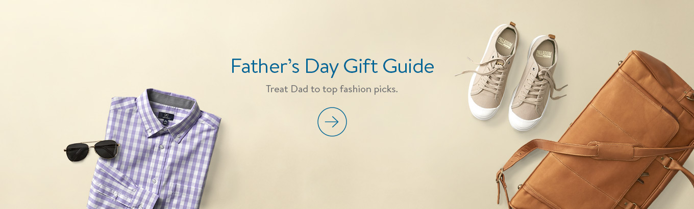Father's Day Gift Guide Treat Dad to top fashion picks.