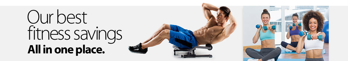 Best Fitness Savings All in One Place at Walmart