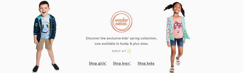 7340851557f Wonder Nation - Walmart.com