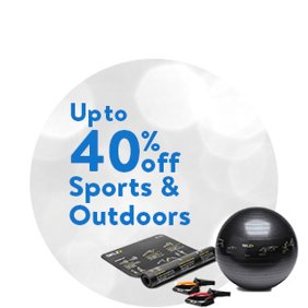 Up to 40% off Sports & Outdoors: Sports & Outdoor Deals