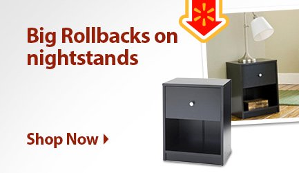 Nightstand rollbacks