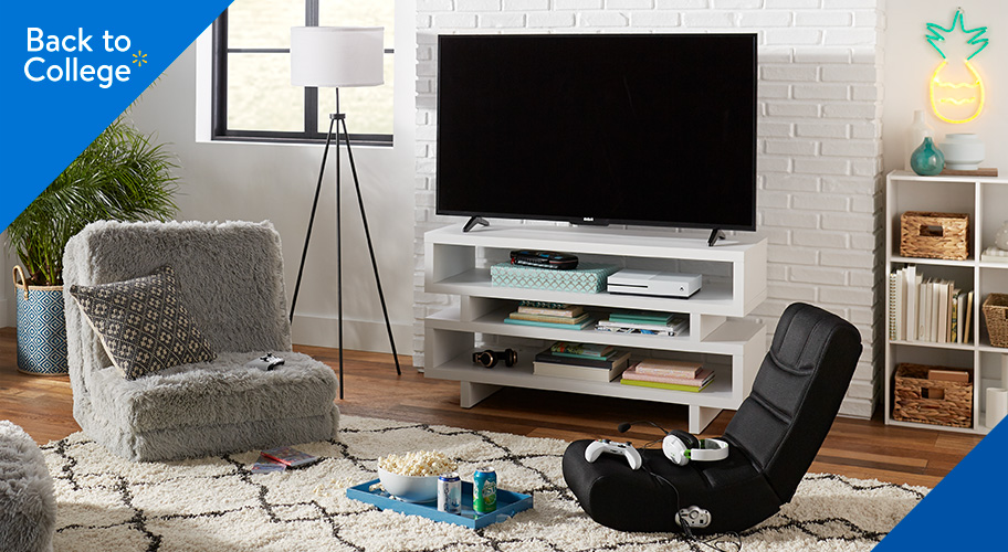 TV stands for lounge/game rooms.