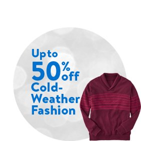 Up to 50% off Cold-Weather Fashion: Cold-Weather Fashion Deals