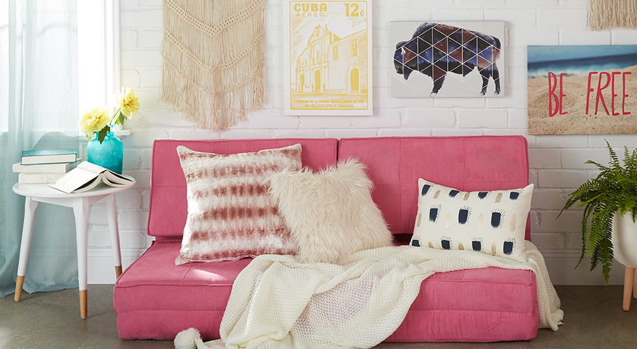 Cool Accents. Deck out your dorm with new decor.