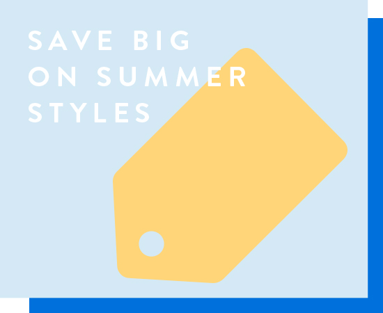 Save big on summer styles. End-of-season savings. Fashion for the whole fam. Shop all.
