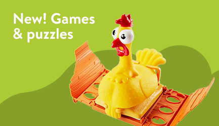 NEW! Games and puzzles