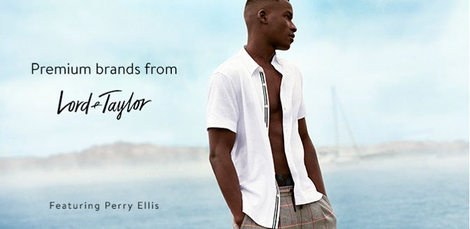 9dd3a691bb71 Premium brands from Lord and Taylor Featuring Perry Ellis.