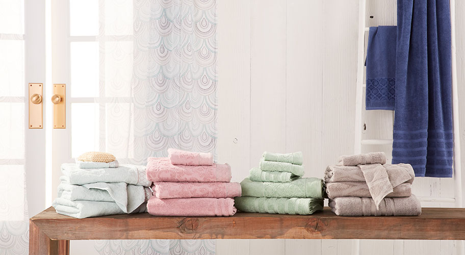 Make your bathroom feel a little more luxe with fresh, fluffy towels