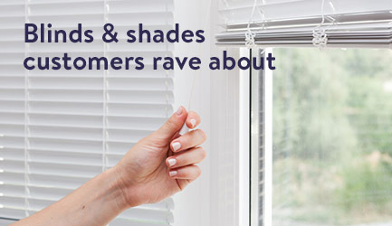 Blinds & shades customers rave about