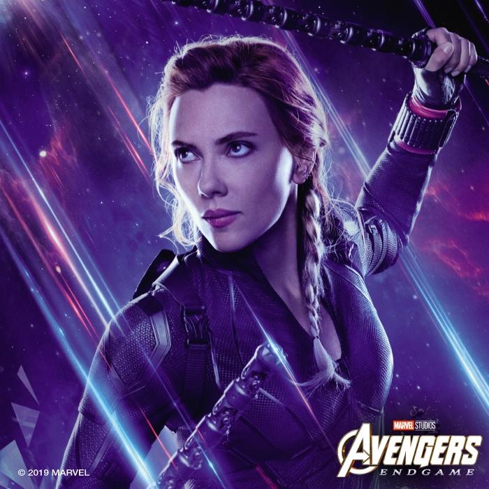 Avengers Endgame Infinity War Poster Black Widow Movie Logo Marvel Gift Idea