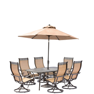 outdoor table and chairs with umbrella umbrella hole dining sets patio furniture walmartcom