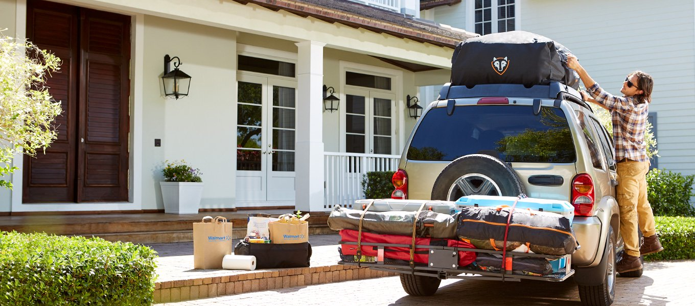 Exterior accessories. Everything from decals to cargo carriers.