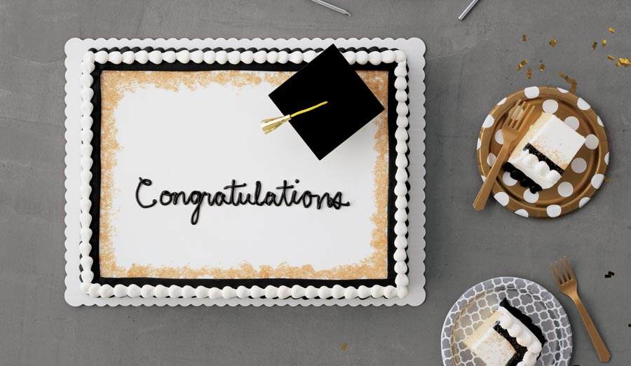 Marvelous How To Choose The Perfect Graduation Cake Walmart Com Personalised Birthday Cards Veneteletsinfo