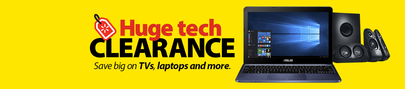 Huge tech clearance