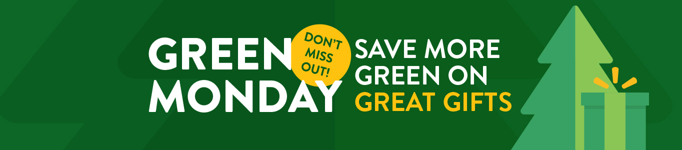 Walmart Green Monday. Save on great gifts.
