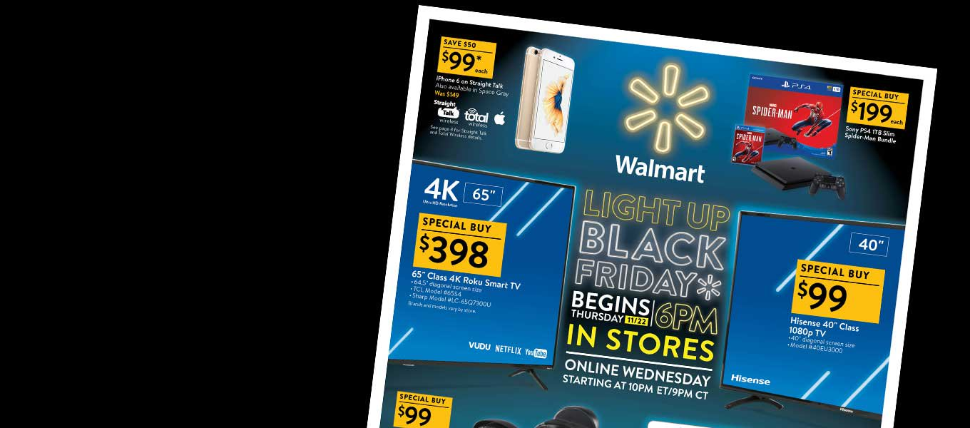 black friday ad is here starting online 10 pm et 1121 in - When Will Walmart Open After Christmas