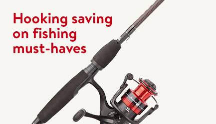 Holiday Specials on fishing essentials!