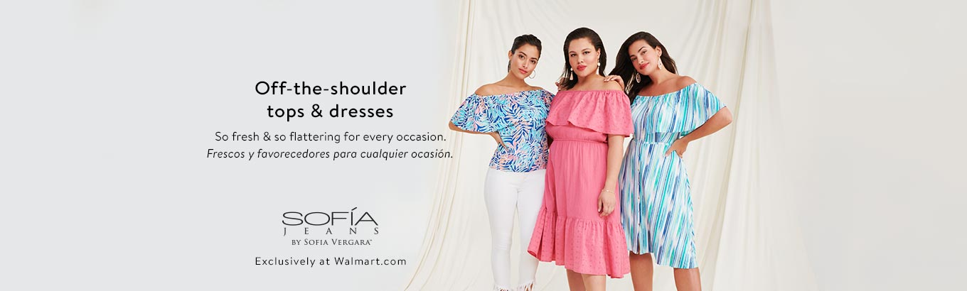 dd0ea59d6 Off-the-shoulder tops & dresses. So fresh & so flattering for every