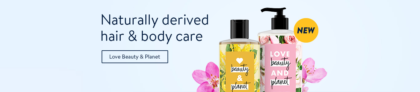 Naturally derived hair and body care. Shop Love Beauty & Planet