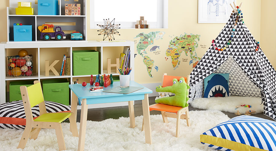 Hooray for Play! Create a kids' play space you'll love as much as they do. Find everything here, from practical storage and furniture to tepees.