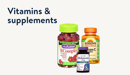 Shop Vitamins and Supplements