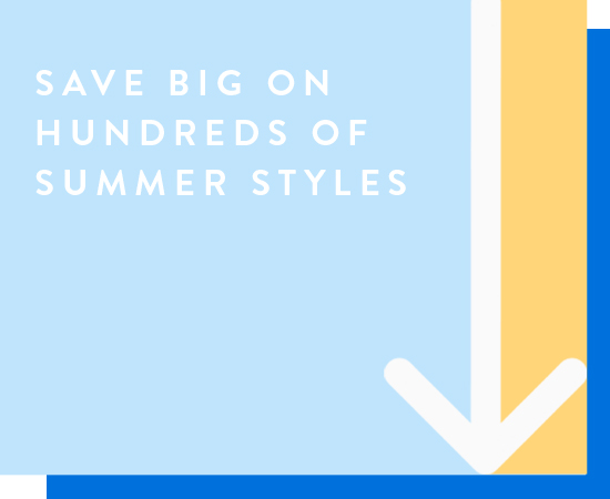 Memorial Day savings. For a limited time only. Save big on hundreds of summer styles. Shop all.