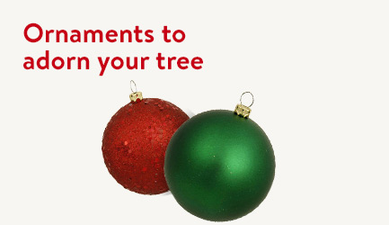 Shop ornaments to adorn your tree