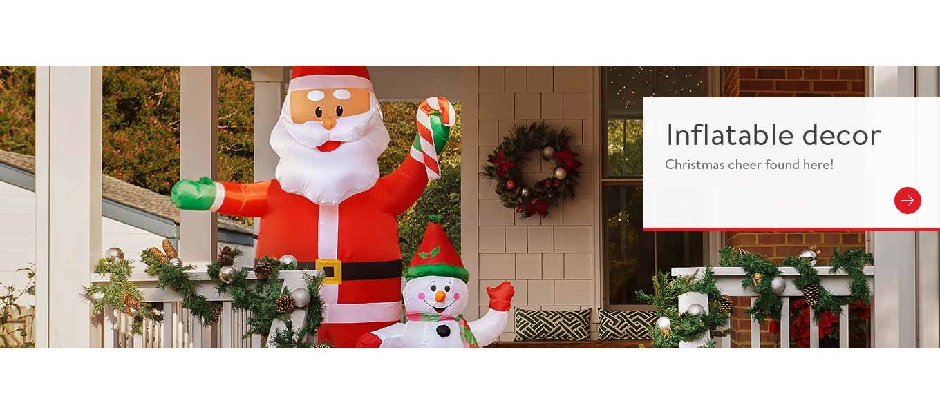 inflatable christmas decor