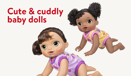 Cute and cuddly baby dolls
